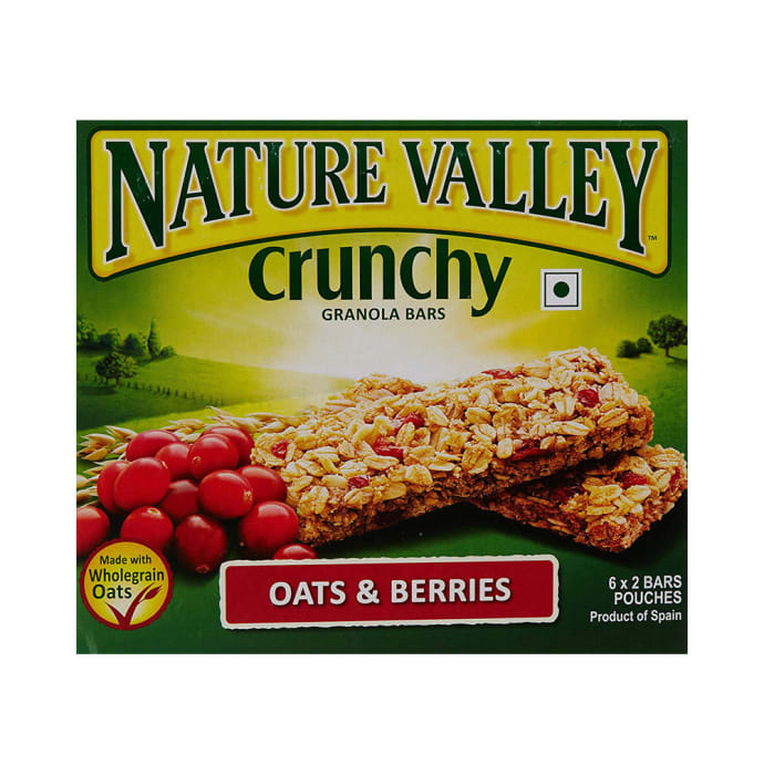 Nature Valley Crunchy Granola Bar (42gm Each) Oats and Berries