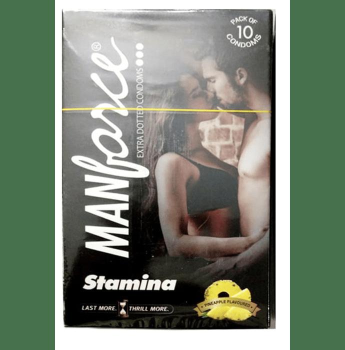 Manforce Stamina Condom Pineapple