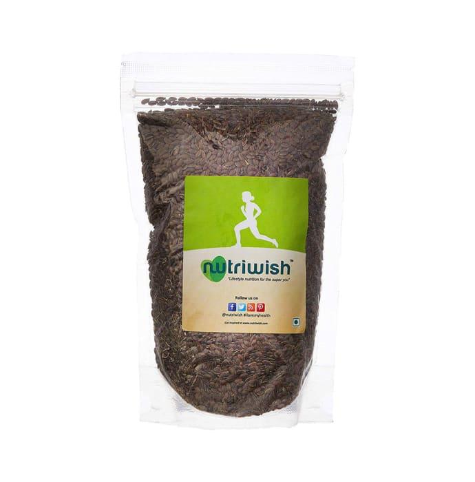 Nutriwish Roasted and Salted Flax Seeds