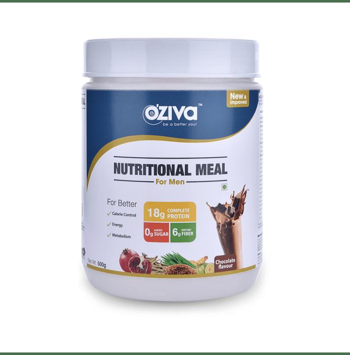 Oziva Nutritional Meal Shake for Men Chocolate