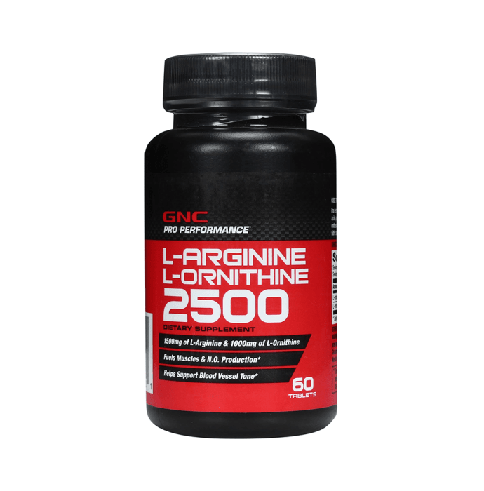GNC L-Arginine and L-Ornithine Tablet