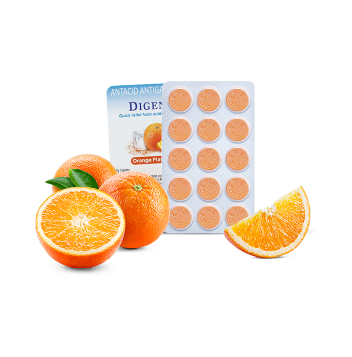 Digene Tablet Orange