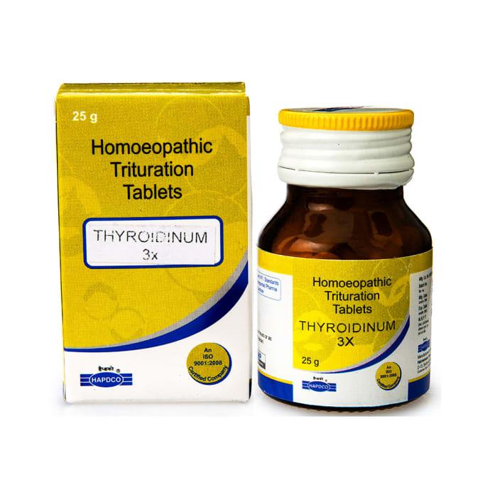 Hapdco Thyroidinum Trituration Tablet 3X