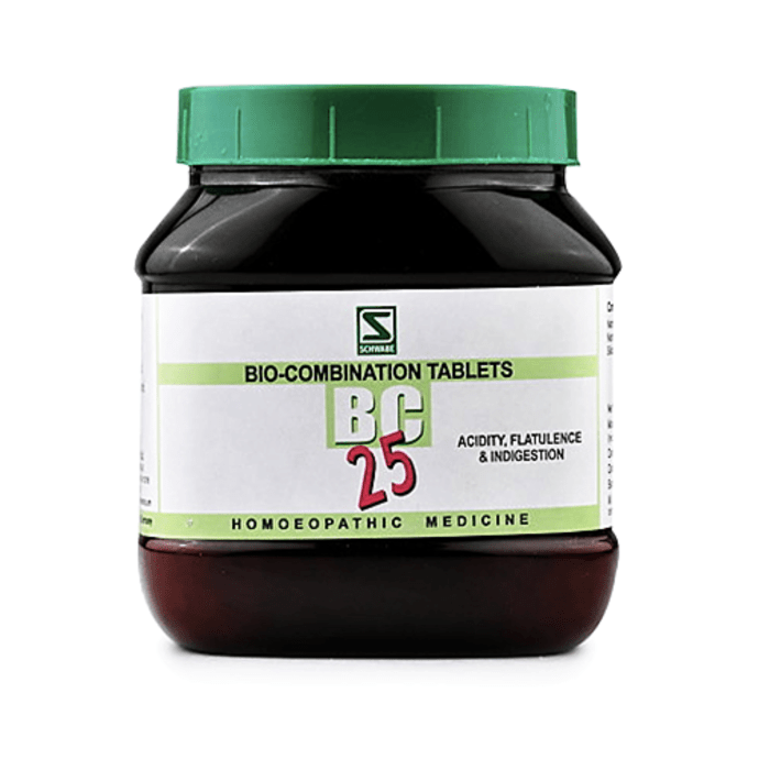 Dr Willmar Schwabe India Bio-Combination 25 (BC 25) Tablet