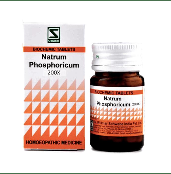 Dr Willmar Schwabe India Natrum Phosphoricum Biochemic Tablet 200X