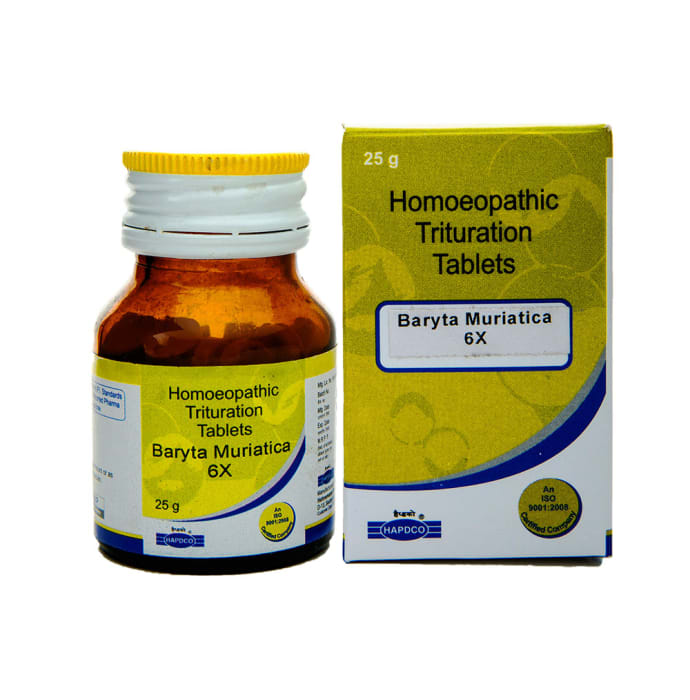 Hapdco Baryta Mur Trituration Tablet 6X