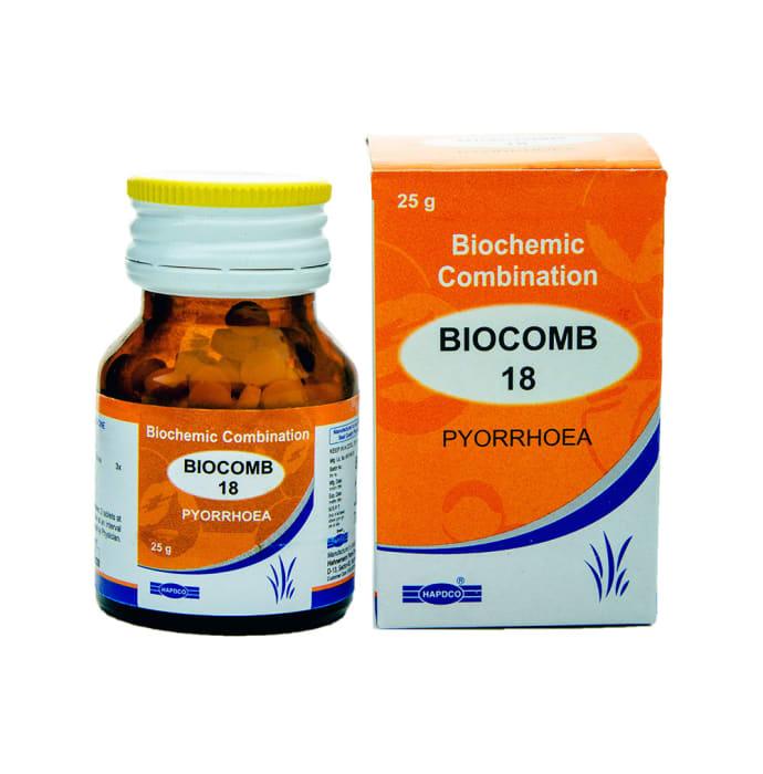 Hapdco Bio-Combination 18 Tablet