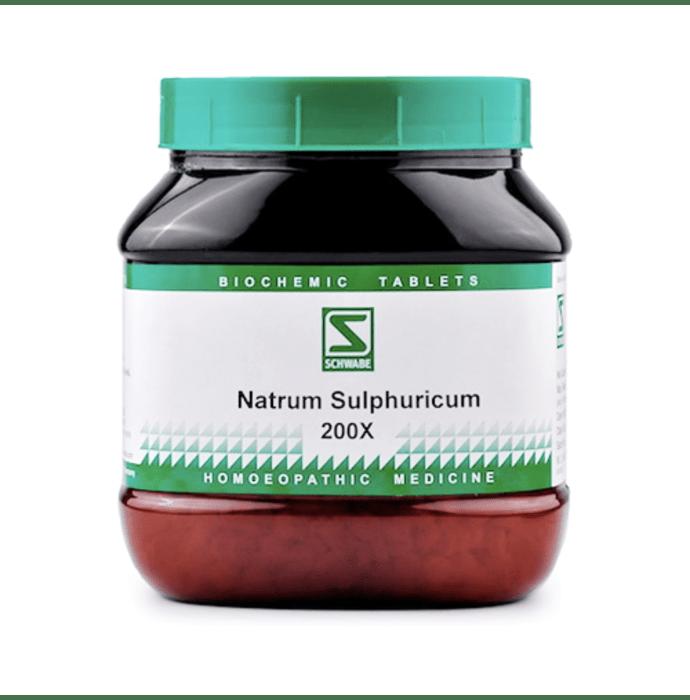 Dr Willmar Schwabe India Natrum Sulphuricum Biochemic Tablet 200X