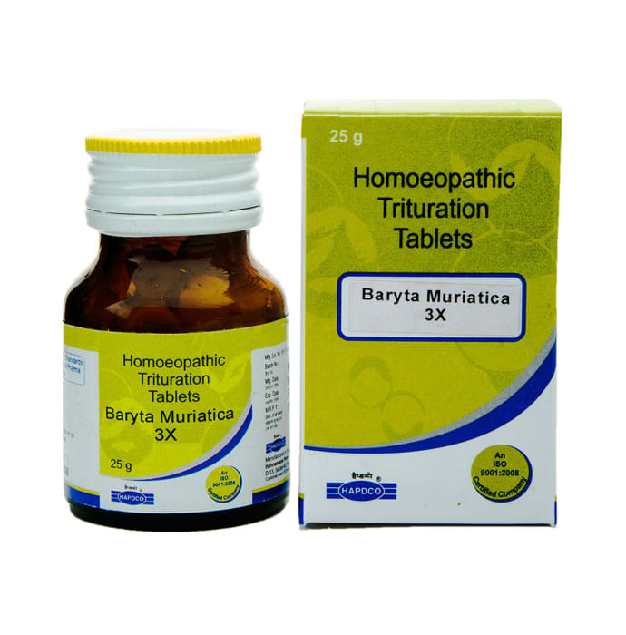 Hapdco Baryta Mur Trituration Tablet 3X
