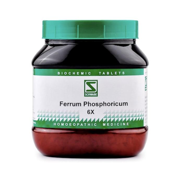 Dr Willmar Schwabe India Ferrum Phosphoricum Biochemic Tablet 6X