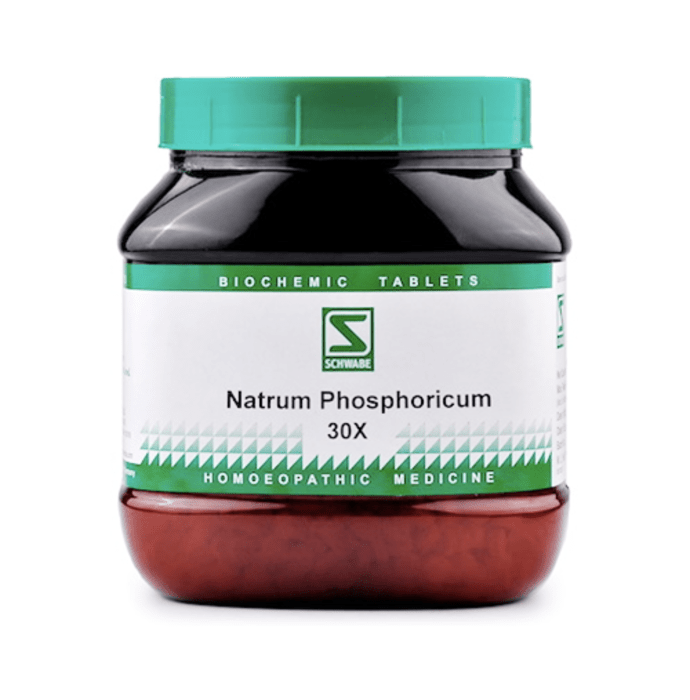 Dr Willmar Schwabe India Natrum Phosphoricum Biochemic Tablet 30X
