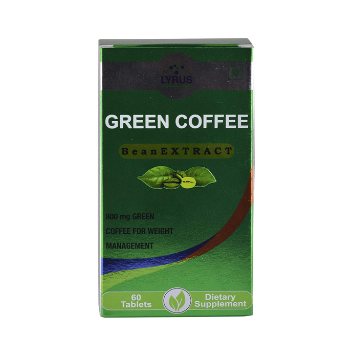 Lyrus Green Coffee Bean Extract Tablet