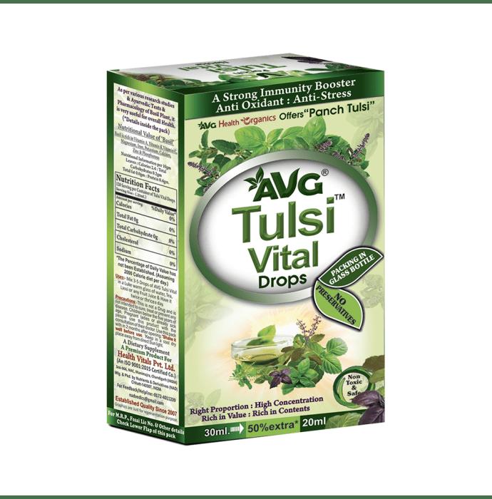 AVG Tulsi Vital Drop
