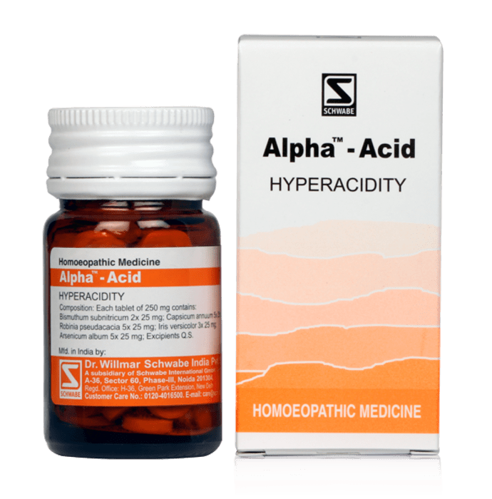 Dr Willmar Schwabe India Alpha - Acid Tablet