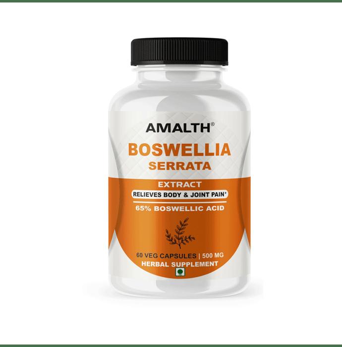 Amalth Boswellia Serrata Extract Veg Capsules
