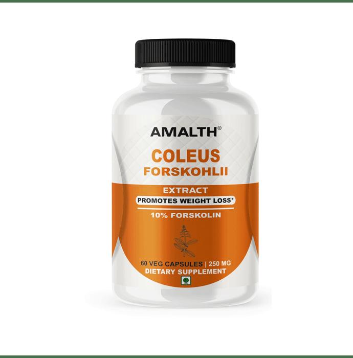 Amalth Coleus Forskohlii Extract Veg Capsules