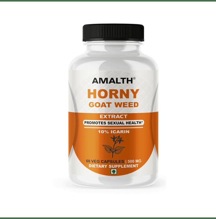 Amalth Horny Goat Weed Extract Veg Capsules