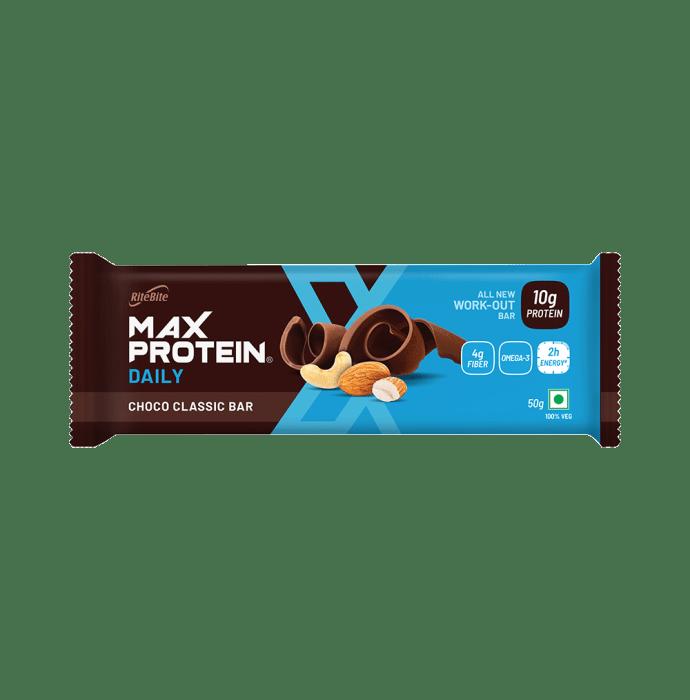 RiteBite Max Protein Daily Bar (50gm Each) Choco Classic