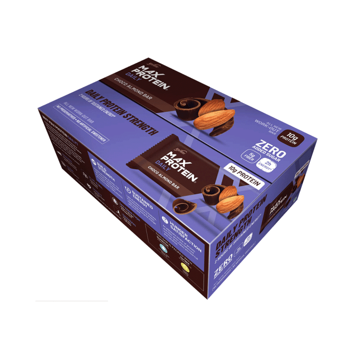RiteBite Max Protein Daily Bar (50gm Each) Choco Almond