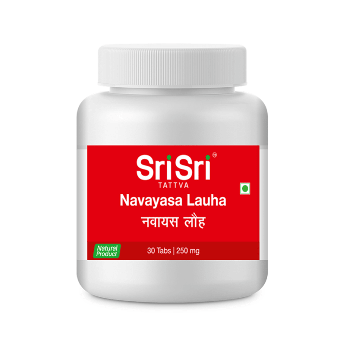 Sri Sri Tattva Navayasa  Lauha 250mg Tablet