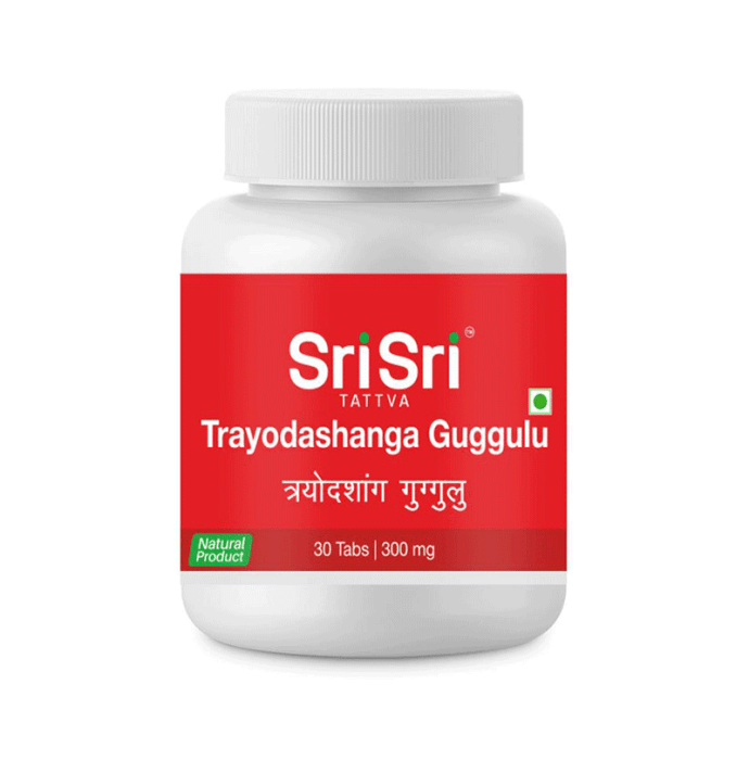 Sri Sri Tattva Trayodashanga Guggulu 300mg Tablet