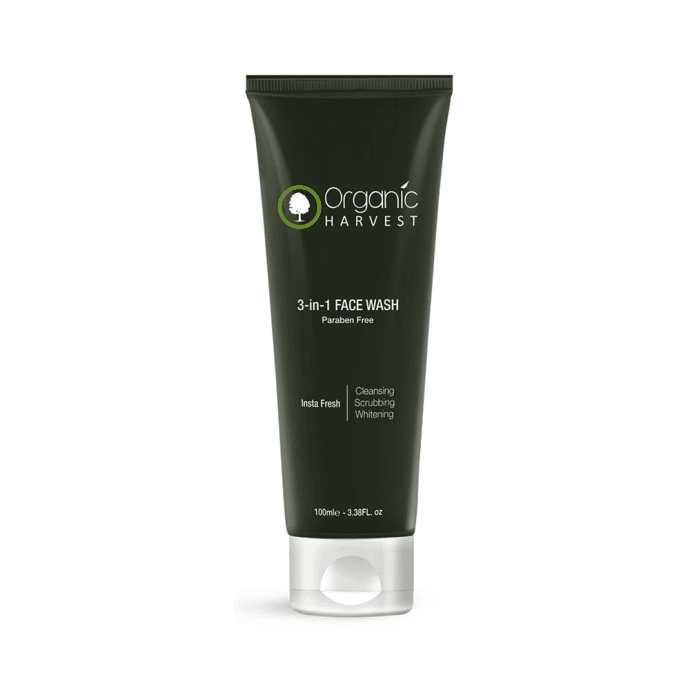 Organic Harvest 3-in-1 Face Wash