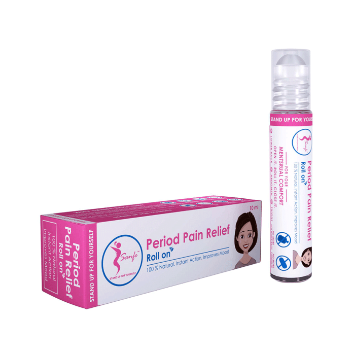 Sanfe Period Pain Relief Roll On