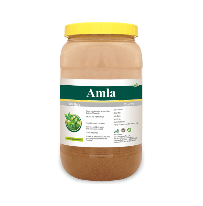 Jain Amla Pure Herb Powder