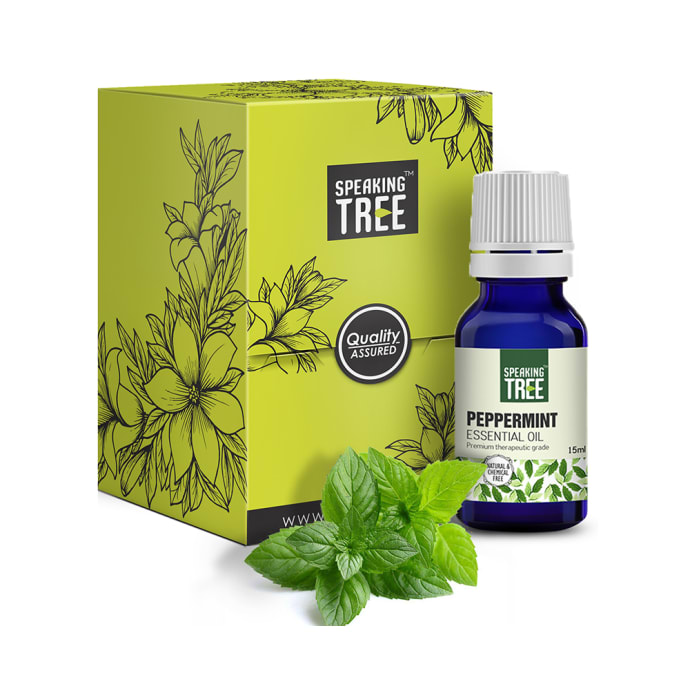 Speaking Tree Peppermint Essential Oil
