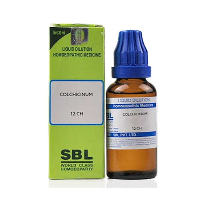 SBL Colchicinum Dilution 12 CH