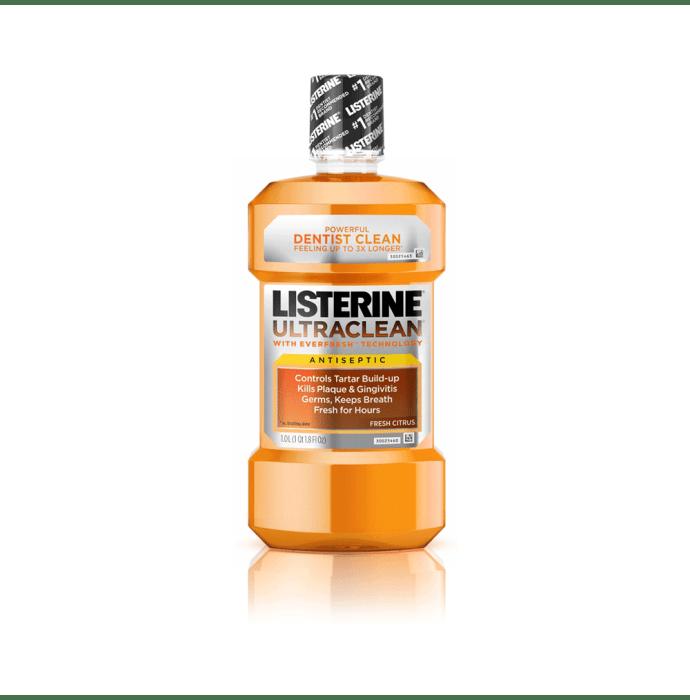 Listerine Cool Citrus Mouth Wash