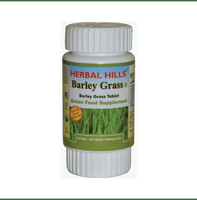 Herbal Hills Barley Grass 500mg Tablet
