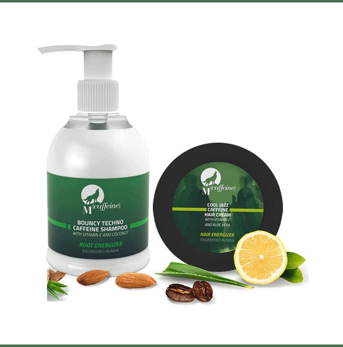 Mcaffeine Hair Zex  (Shampoo- 150Ml, Hair Cream- 50ml) Pack