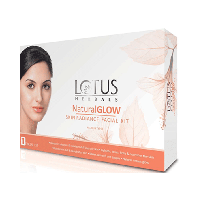 Lotus Herbals NaturalGlow Skin Radiance Facial Kit