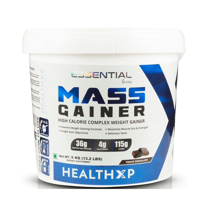 HealthXP Mass Gainer Triple Chocolate
