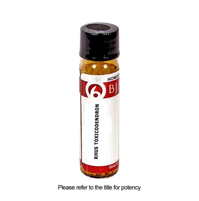 Bjain Rhus Toxicodendron Globules 12 CH