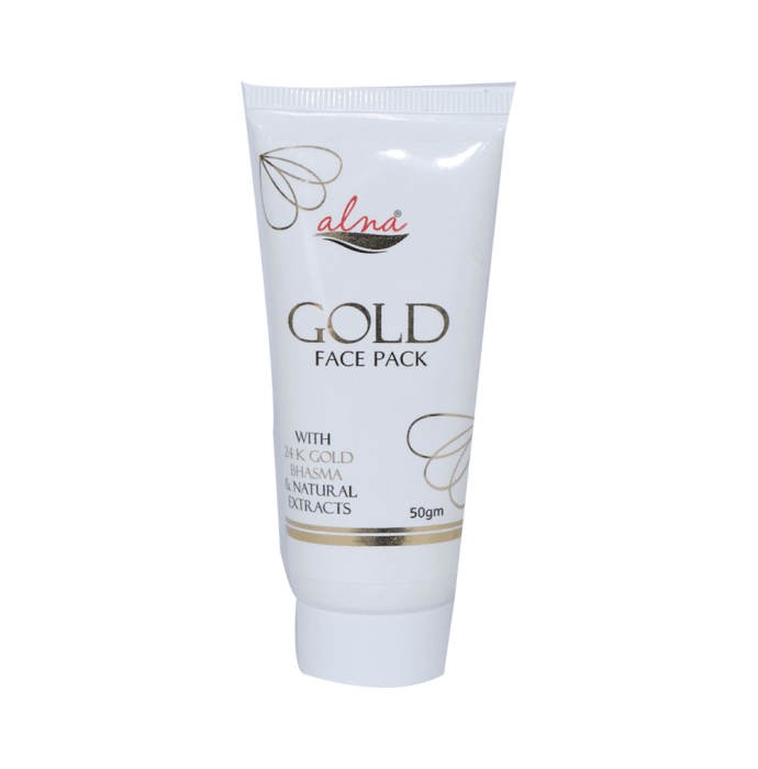 Alna Face Pack Gold