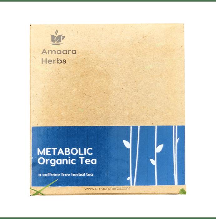 Amaara Herbs Caffeine Free Tea Bag Metabolic Organic