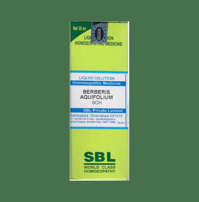 SBL Berberis Aquifolium Dilution 6 CH