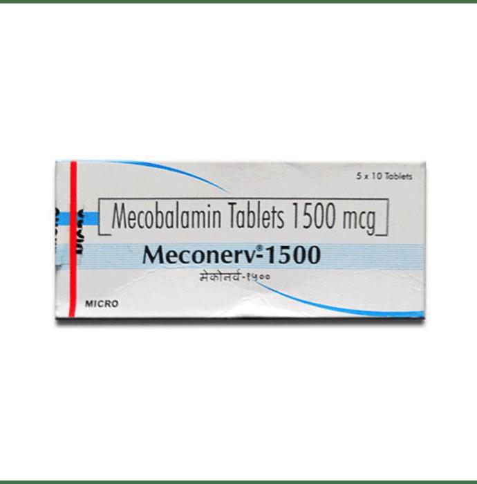 Meconerv 1500mcg Tablet