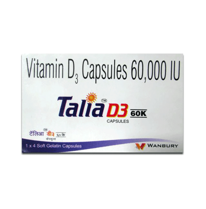 Talia D3 60K Capsule