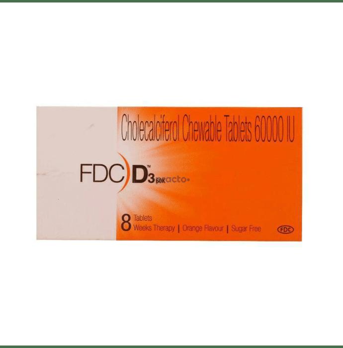 Fdc D3 60K Tablet