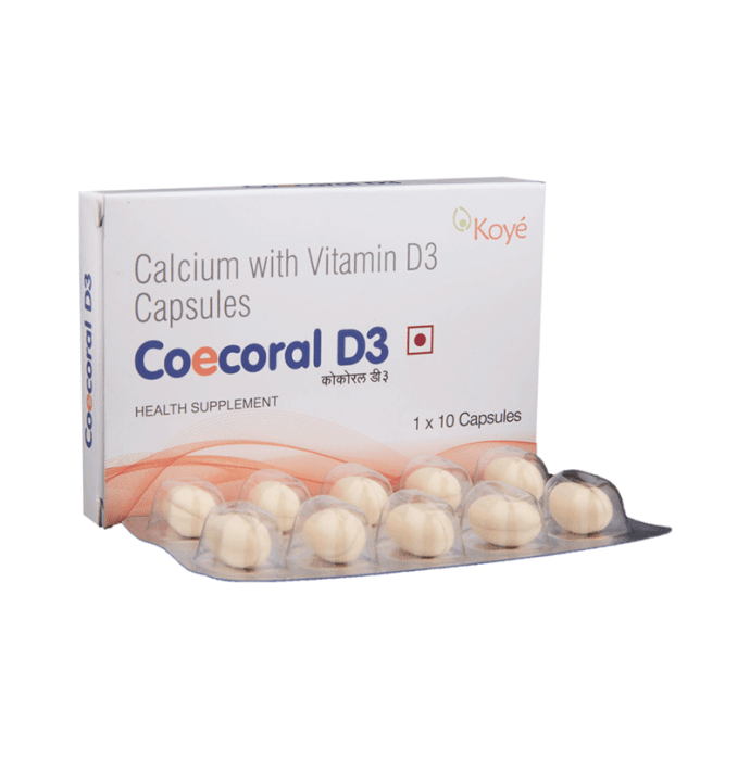 Coecoral D3 500mg Tablet