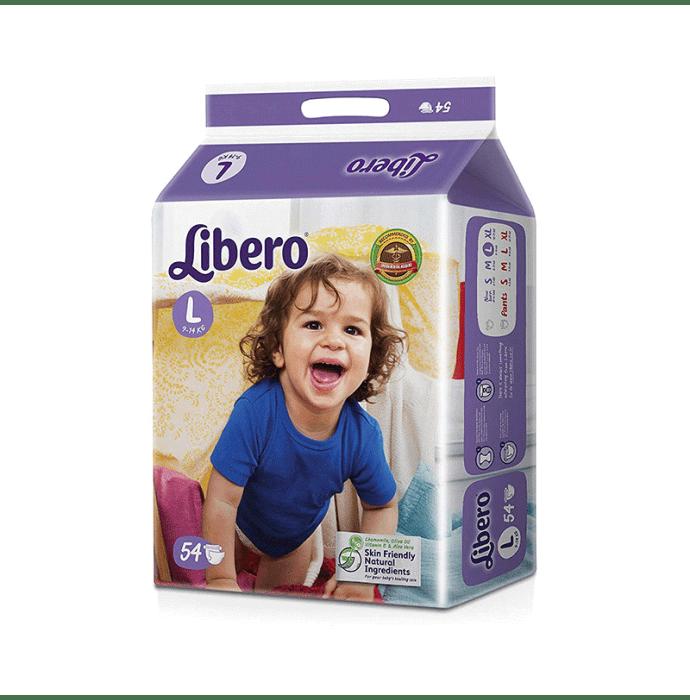 Libero Open Diaper L