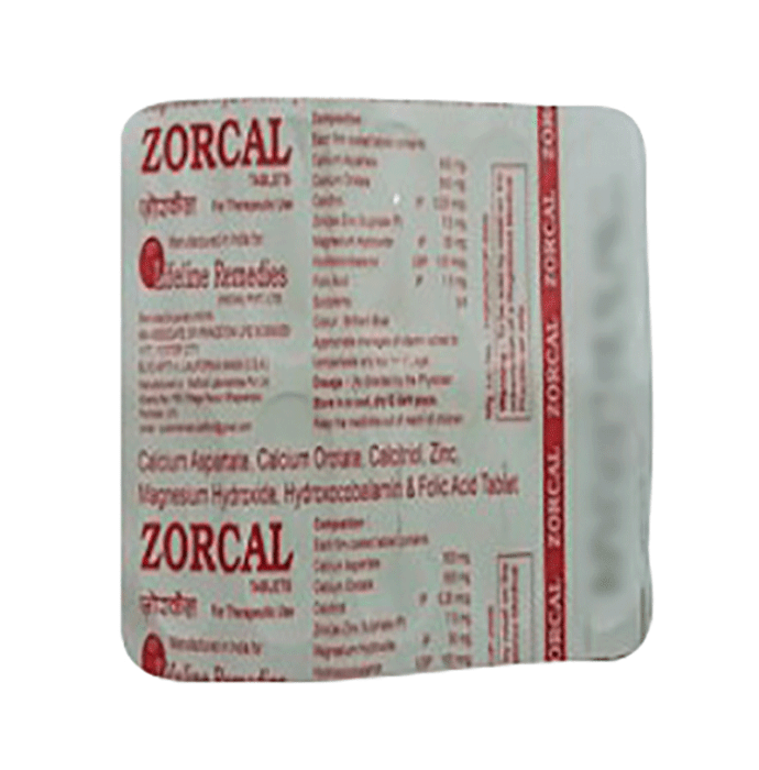 Zorcal Tablet