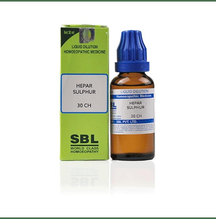 SBL Cuprum Sulphuricum Dilution 30 CH
