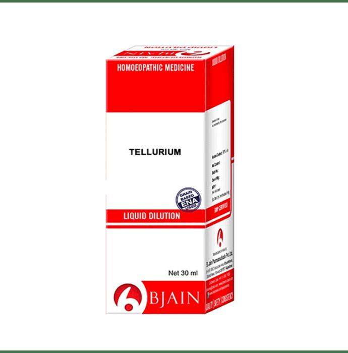 Bjain Tellurium Metallicun Dilution 200 CH