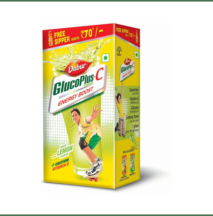 Dabur Glucoplus C  Powder Lemon
