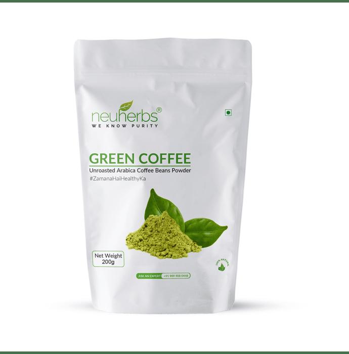 Neuherbs Green Coffee Beans Powder Organic