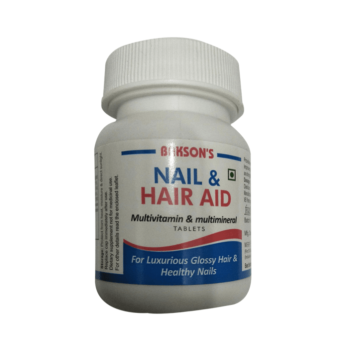 Bakson's Nail & Hair Aid Tablet